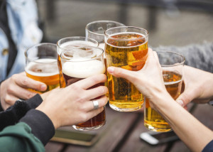 Fundraisers Toast: Raise Your Glass